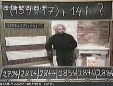 Fort Boyard 1992 : La nouvelle épreuve du Calcul à la suite avec le Professeur Désagrégé