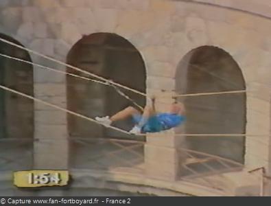 Fort Boyard 1992 : La nouvelle aventure du Pont de singe