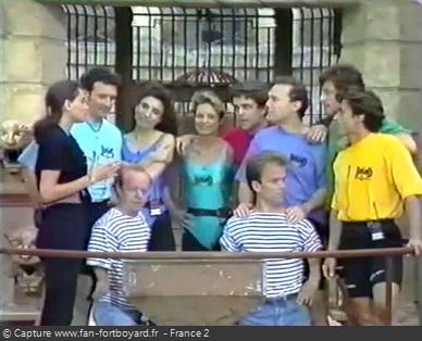 Fort Boyard 1993 - Équipe 2 - Spéciale Animateurs (07/07/1993)