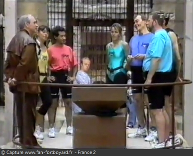 Fort Boyard 1993 - Équipe 7 - Daniel Christophe (11/08/1993)