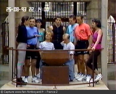Fort Boyard 1993 - Équipe 9 - Gilles Brücker (25/08/1993)