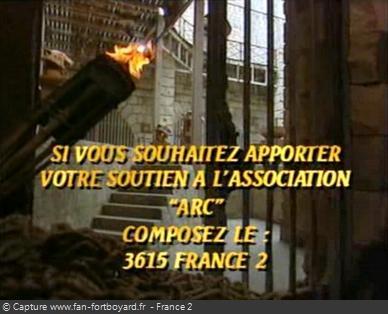 Fort Boyard 1993 - Les associations sont largement mises en avant pour la première fois