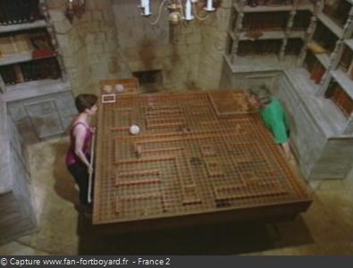 Fort Boyard 1993 : La nouvelle épreuve de la Boîte à billes