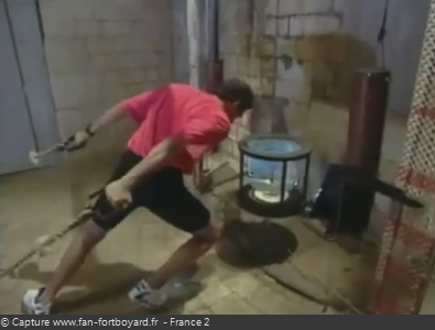 Fort Boyard 1993 : La nouvelle épreuve de la Tête dans l'eau
