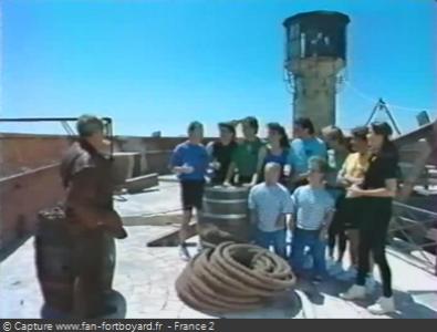 Fort Boyard 1993 : Présentation de l'équipe