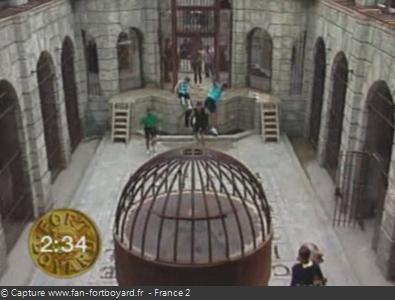 Fort Boyard 1993 : Entrée dans la Salle du Trésor