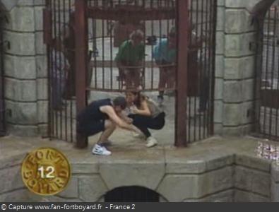 Fort Boyard 1993 : La porte de la Salle du Trésor se referme...