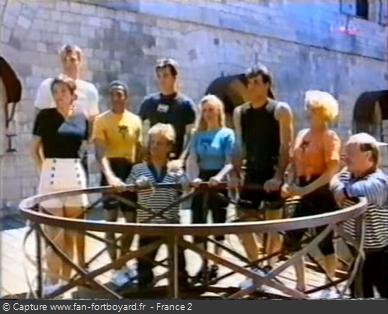 Fort Boyard 1994 - Équipe 3 - Stéphane Ostrowski (16/07/1994)