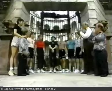 Fort Boyard 1994 - Équipe 5 - Nina Morato (30/07/1994)