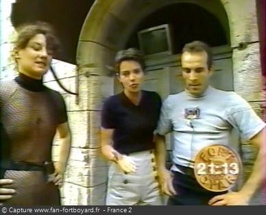 Fort Boyard 1994 - L'équipe 6 termine les épreuves avec 2 candidats, avant de faire 4 sacrifices et de perdre dans la Salle du Trésor