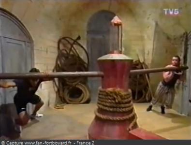 Fort Boyard 1994 : La nouvelle épreuve du Cabestan