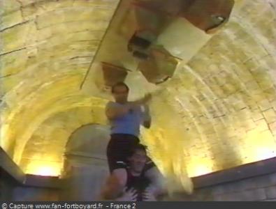 Fort Boyard 1994 : La nouvelle épreuve du Bizutage