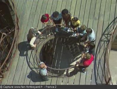 Fort Boyard 1994 : Présentation de l'équipe