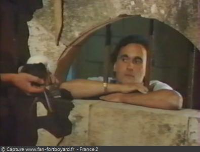 Fort Boyard 1994 : Le prisonnier en prison