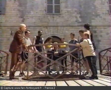 Fort Boyard 1995 - Équipe 6 - Manuel Gélin (12/08/1995)