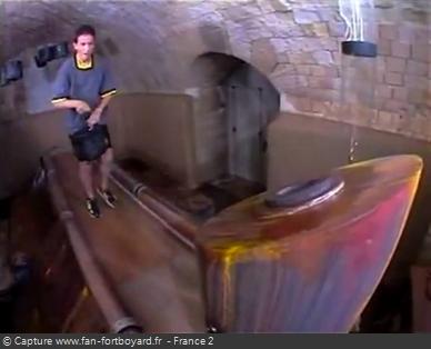 Fort Boyard 1995 : La nouvelle épreuve du Tapis roulant