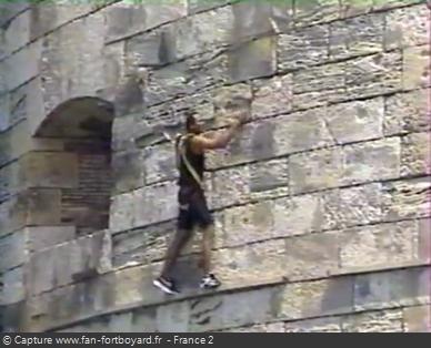 Fort Boyard 1995 : La nouvelle épreuve du Précipice extérieur
