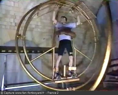 Fort Boyard 1995 : La nouvelle épreuve du Gyroscope