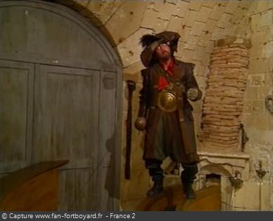 Fort Boyard 1995 : La nouvelle épreuve du Pirate avec Jaba