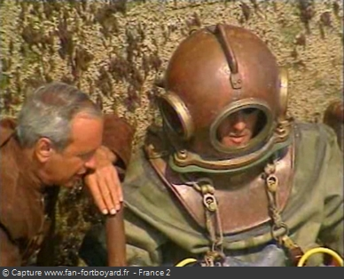 Fort Boyard 1995 : La séquence du Scaphandre avec Gilbert Montagé a marqué la saison