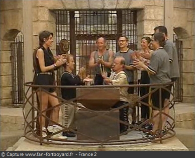 Fort Boyard 1995 : Fin de l'émission