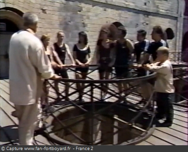Fort Boyard 1996 - Équipe 2 - Christine Janin (29/06/1996)