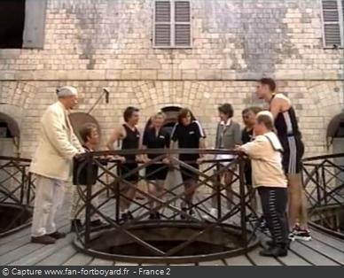 Fort Boyard 1996 - Équipe 9 - Gérard Holtz (17/08/1996)