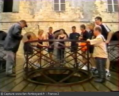 Fort Boyard 1996 - Équipe 11 - Isabelle Patissier (31/08/1996)