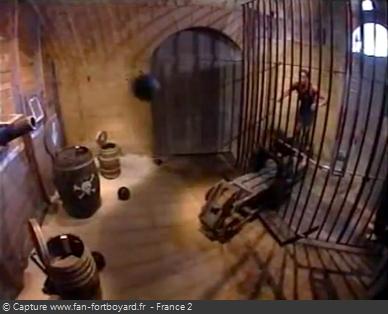 Fort Boyard 1996 : La nouvelle épreuve de la Bascule magyare