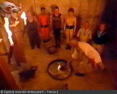 Fort Boyard 1996 : Saynète d'introduction de la 1ère émission sur le thème des JO