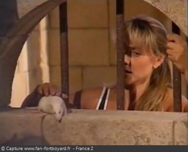 Fort Boyard 1996 : Choix du rat par le prisonnier