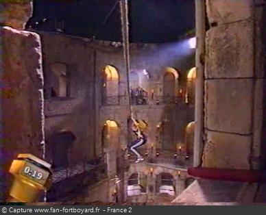 Fort Boyard 1996 : C'est lors des aventures qu'on profite des belles vues nocturnes du fort