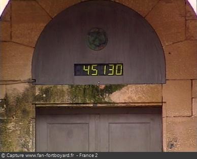 Fort Boyard 1996 : Le compteur des Boyards
