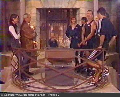 Fort Boyard 1996 : Fin de l'émission en nocturne