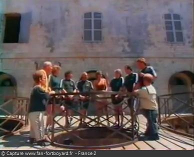 Fort Boyard 1997 - Équipe 5 - Catherine Chabaud (26/07/1997)