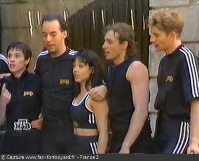 Fort Boyard 1997 - Équipe 7 - Philippe Candeloro (09/08/1997)