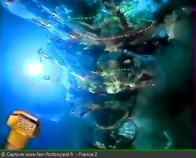 Fort Boyard 1997 - Le Sapin immergé, une aventure inédit pour les nocturnes de Noël et du Nouvel An