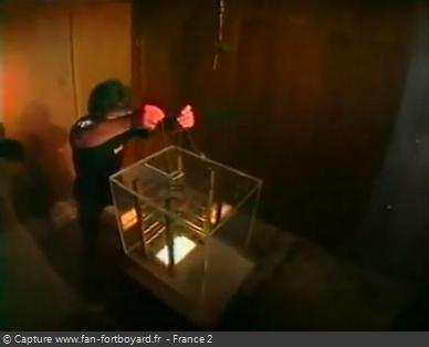 Fort Boyard 1997 : La nouvelle épreuve du Fil a plomb