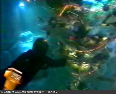 Fort Boyard 1997 : La nouvelle aventure du Sapin immergé pour les nocturnes