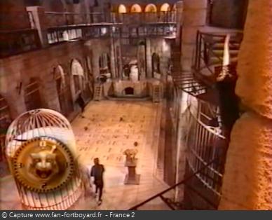 Fort Boyard 1997 : La Salle du trésor lors des nocturnes