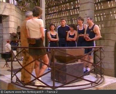 Fort Boyard 1997 : La pesée