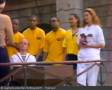 Fort Boyard 1998 - Équipe 1 - Sophie Thalmann (04/07/1998)