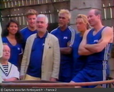 Fort Boyard 1998 - Équipe 10 - Jean-Claude Brialy (05/09/1998)