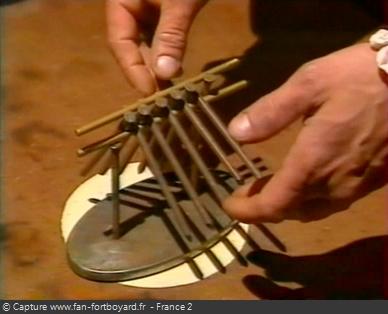 Fort Boyard 1998 : Le nouveau duel du Conseil des Clous en équilibre