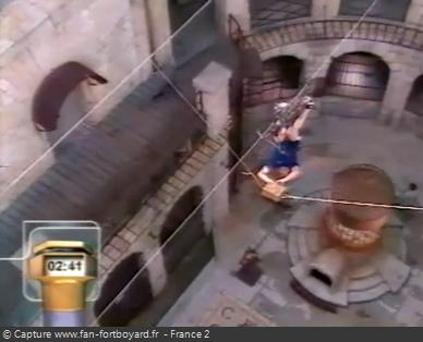 Fort Boyard 1998 : La nouvelle aventure du Cablocypède