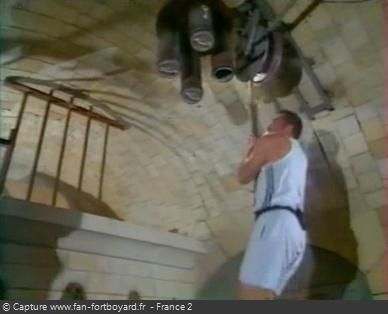 Fort Boyard 1998 : La nouvelle épreuve de la Bobine