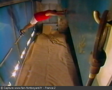 Fort Boyard 1998 : La nouvelle épreuve de la Corniche
