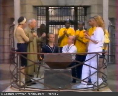 Fort Boyard 1998 : La pesée