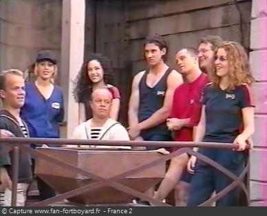Fort Boyard 1999 - Équipe 1 - Lââm (26/06/1999)