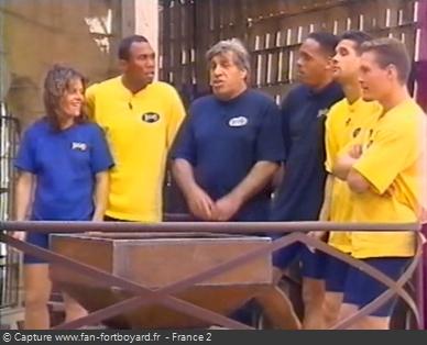 Fort Boyard 1999 - Équipe 2 - Jean-Pierre Castaldi (03/07/1999)